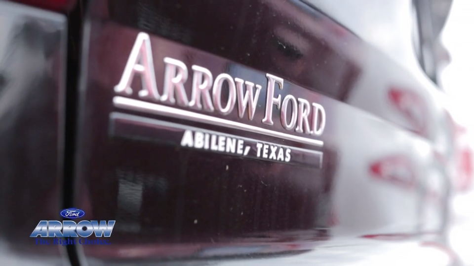 Arrow Ford Abilene >> Arrow Ford Free Ride Sales Event Tv Commercial