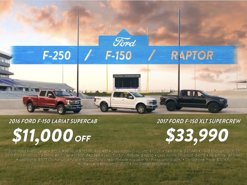Arrow Ford – Trucks and Tailgates